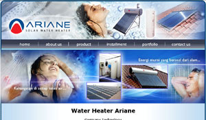 Ariane Water Heater